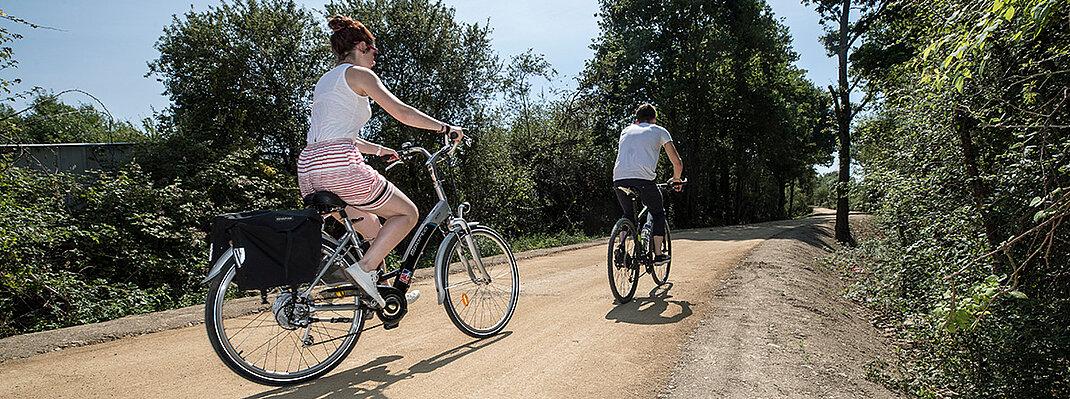 Photo de la boucle verte Montreuil-Juigné/Angers