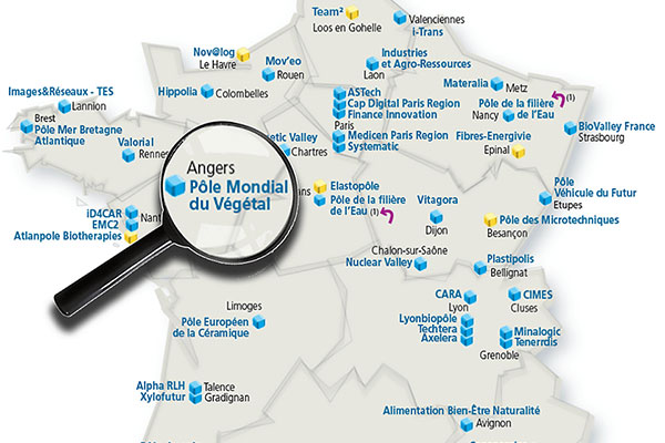 Angers, siège du Pôle mondial du végétal