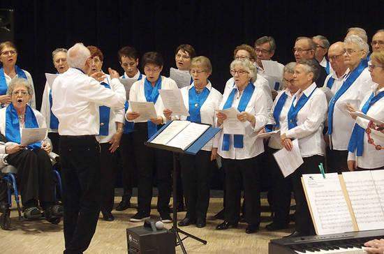 Concert de chorale à Beaucouzé.