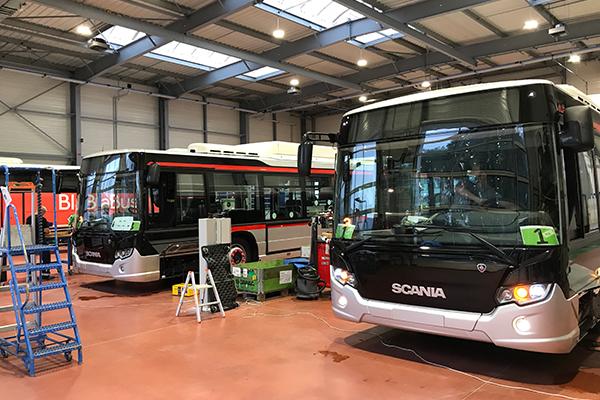 Scania installe son centre de préparation sur son site d'Angers-Ecouflant