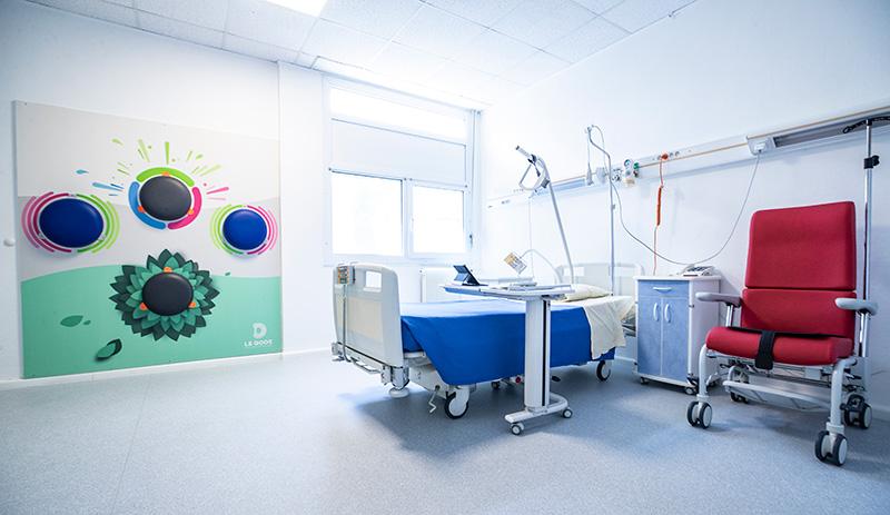Le living lab Allegro, au coeur du service gériatrie du CHU d'Angers, reçoit des patients depuis un an.