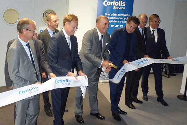 Coriolis: inauguration et nouveaux recrutements