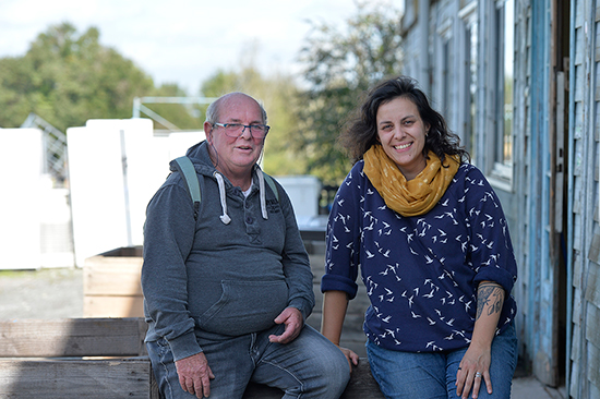 Photo de Bernard Dray et Madeline Pérot