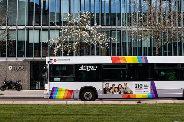 Les transports seront au coeur de la transition écologique et énergétique. Les premiers bus à rouler au gaz naturel sont attendus début 2020 sur le réseau Irigo, dans le cadre de la sortie progressive du diesel de toute la flotte de bus.