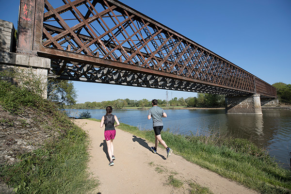 Photo du pont de Segré avant travaux