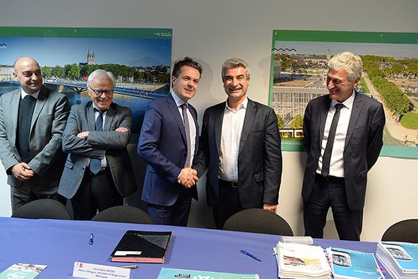 La commande des nouvelles rames du tramway est signée