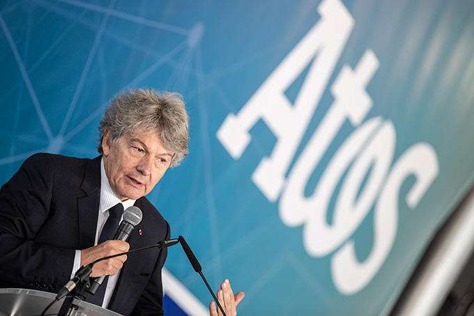 Thierry Breton, le Pdg du groupe Atos, était le 19 novembreà Angers pour inaugurer le nouveau centre dédié aux essais sur les supercalculateurs du numéro 1 européen.