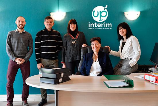Photo de l'équipe de Up Interim