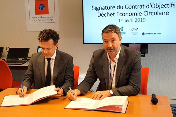 L'Ademe et Angers Loire Métropole s'engagent pour l'économie circulaire