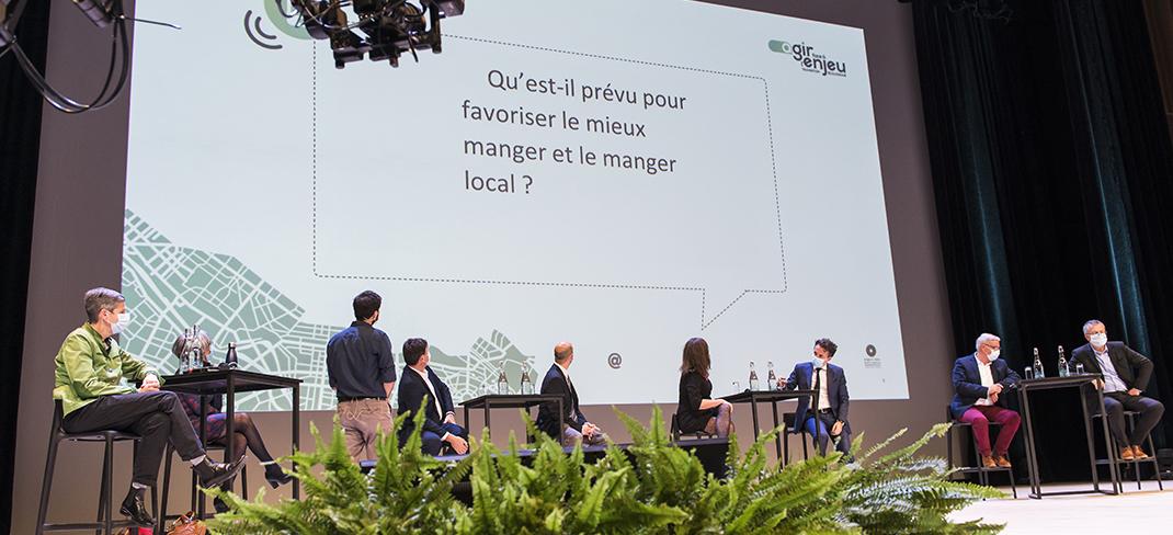 Photo de la soirée de lancement des assises de la transition écologique d'Angers Loire Métropole.