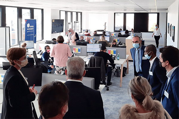 Europ Assistance inaugure ses deux nouveaux centres